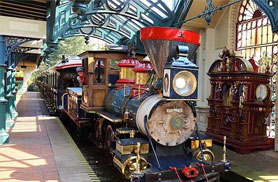 Disneyland Railroad Fantasyland Station